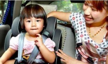 带孩子驾车出行 安全弦要紧绷