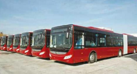 潍坊增设智能公交电子站 助推智慧交通建设