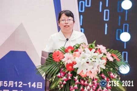 青岛海信网络科技股份有限公司智慧交通事业本部总经理 王雯雯